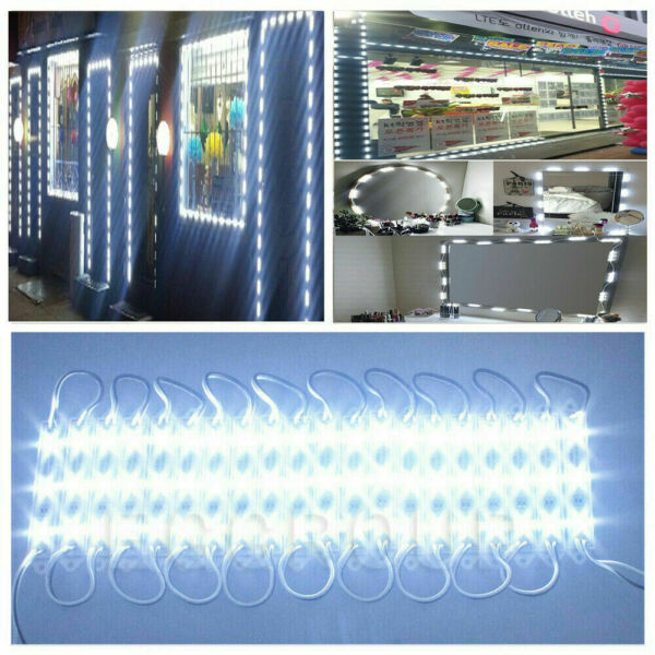 SMD 5050 LED Module Strip Light Waterproof Outdoor For Store Front Sign Decor US $32.73