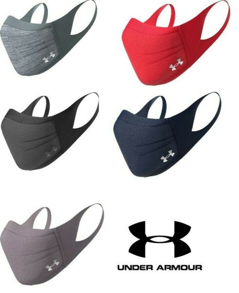 Under Armour UA Sportsmask Adult Face Cover Facemask Sports Mask All Colors $29.94