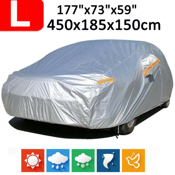 Full Hatch Car Cover Waterproof Dust Scratch Rain Protector Outdoor For KIA Soul $35.89