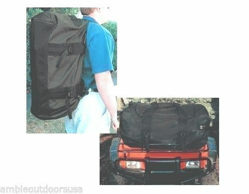 Seattle Sports All Terrain Duffel for ATV and car racks .. New black in color $22.50