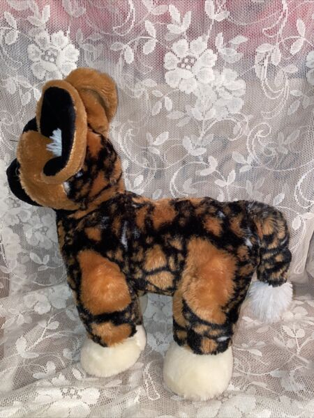 Build a Bear African PAINTED WILD DOG St Louis Zoo RARE htf 14quot; $165.20