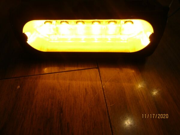 Whelen Liberty Patriot LFL 500 Series LIN1A Super LED Lightbar Module LIN6 AMBER