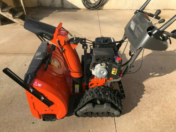 Husqvarna Snow Thrower Blower ST 330T #961930095 01 Track Drive Two Stage 30quot;