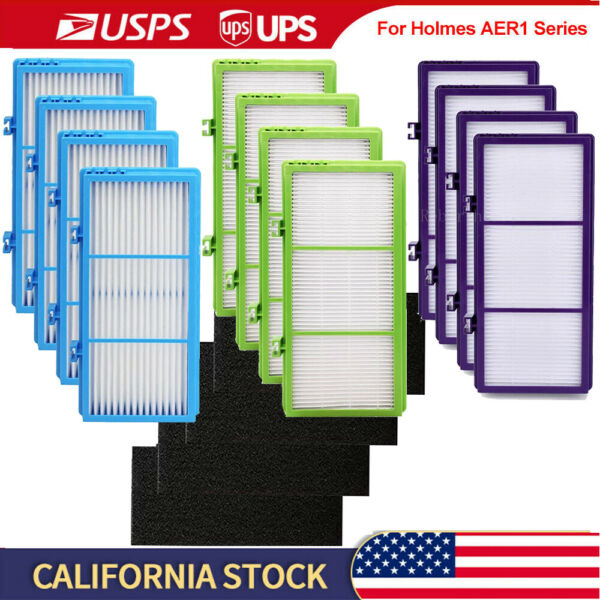 Filters for Holmes AER1 HEPA Type Total Air Filter HAPF30AT and HAP242 NUC $14.59