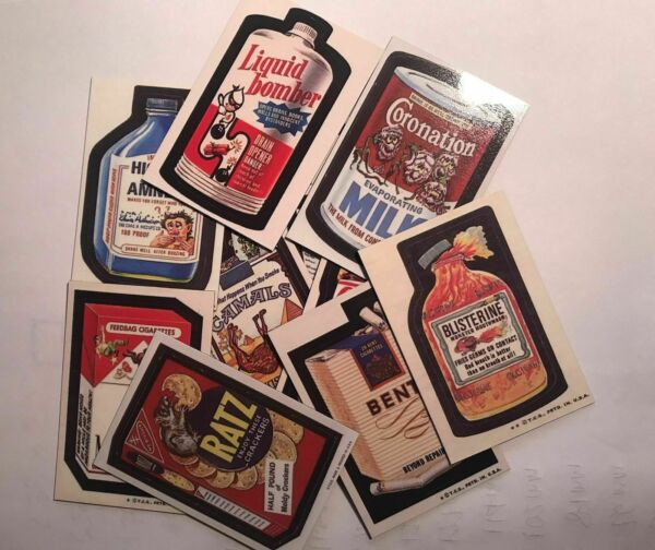 CHOOSE FROM OVER 220 COLLECTABLE WACKY PACKAGES FLEXIBLE REFRIGERATOR MAGNETS $3.00
