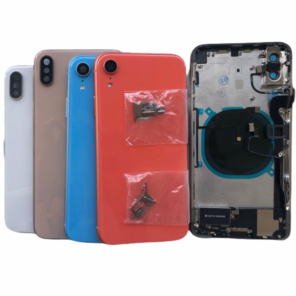 Back Glass Housing Battery Cover Frame Assembly For iPhone X XR XS Max 11 Pro $65.99