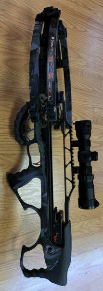 #NEW# Ravin R29X Crossbow Package Dusk Camo with Illuminated Scope 450 FPS Gray