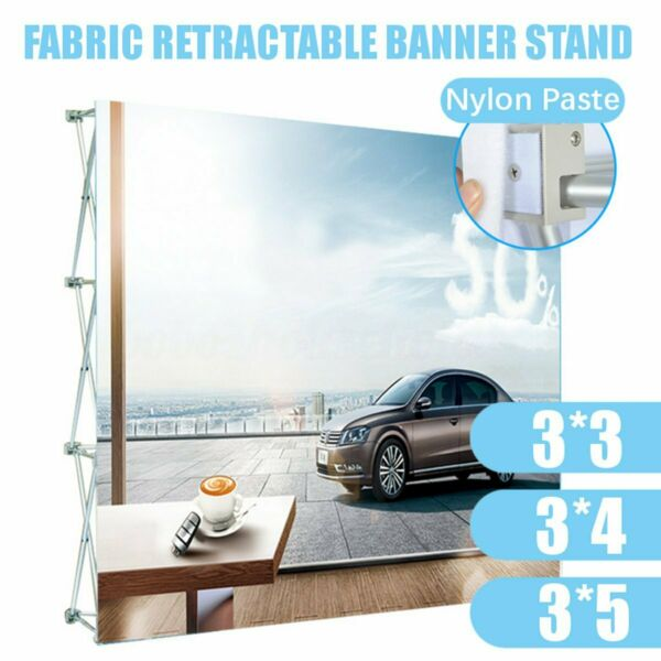 3Size Aluminum Alloy Retractable Stand Flower Wall Frame Wedding Backdrop H6 $235.88