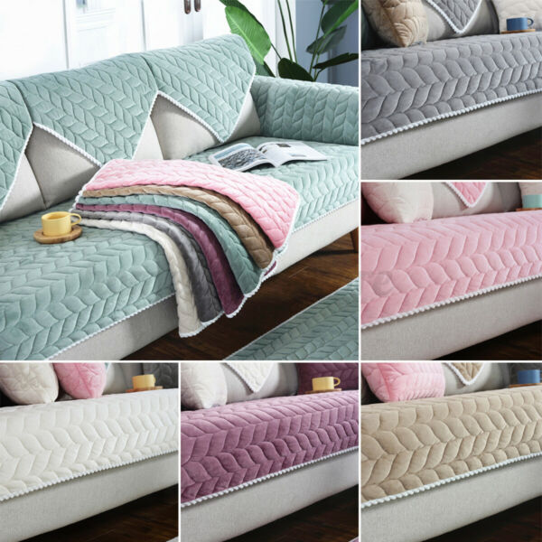 1pcs Soft Sofa Couch Cover Non slip Slipcover Sofa Towel Protective Mat Home $23.01