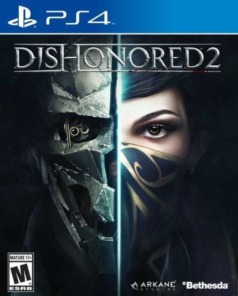 Dishonored 2 for PlayStation 4 PLAYSTATION 4 PS4 Action Adventure Complete $8.99