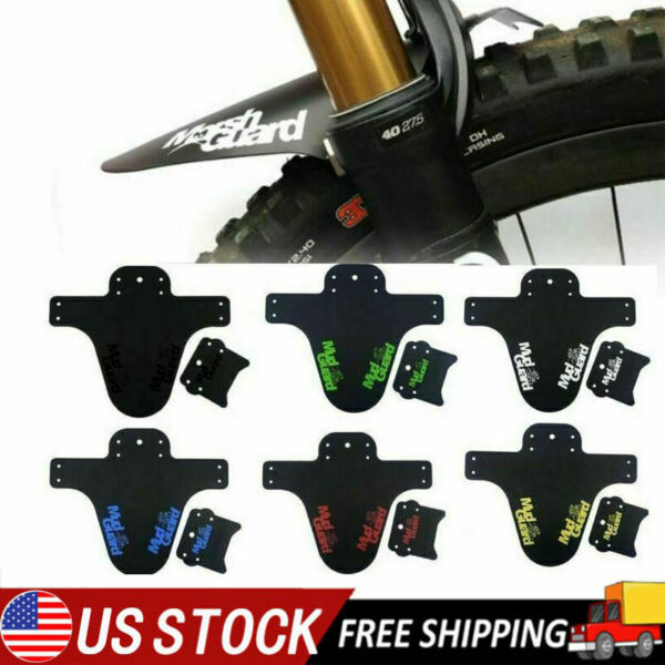 Bicycle Fender MTB Mudguard for Front Fork Rear Wheel Mountain Bike Accessories $8.49