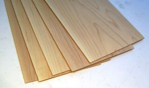 CHERRY 1 4quot; x 8quot; x 12quot; Thin Wood Lumber Board Scroll Craft Pack of 5 or 10 $26.00