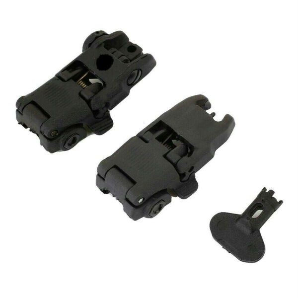 Gen2 Front and Rear Flip Up Sights Fit For MBUS MAG247BLK MAG248BLK $18.99