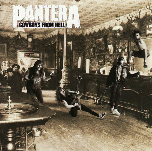 Pantera Cowboys from Hell New Vinyl LP Explicit 180 Gram