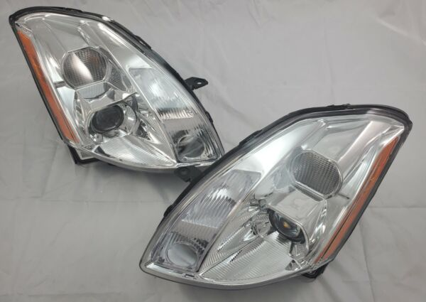 For 2004 2005 2006 Nissan Maxima Complete Direct Replacement Headlight Set NEW $180.00