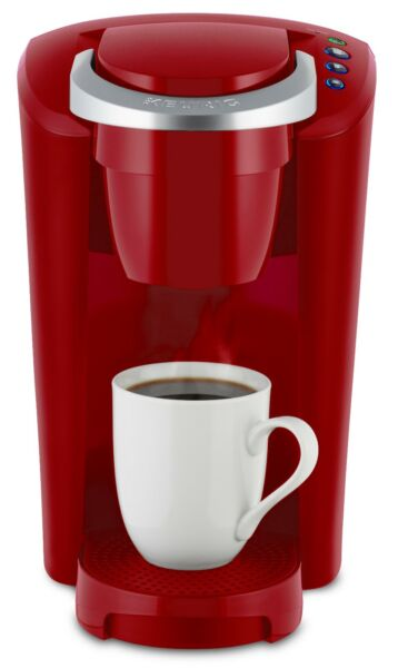 Keurig K Compact Color Imperial Red Single Serve K Cup Pod Coffee Maker