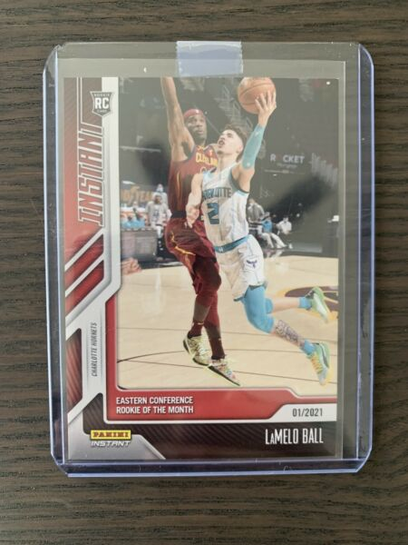 2020 LaMelo Ball Rookie RC Rookie of the Month Limited And Numbered NBA Card