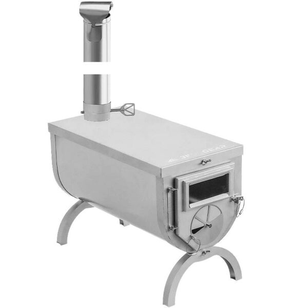 Outdoor Camping Ultralight 304 Stainless Wood Heat Stove Multipurpose Tent Stove $276.90