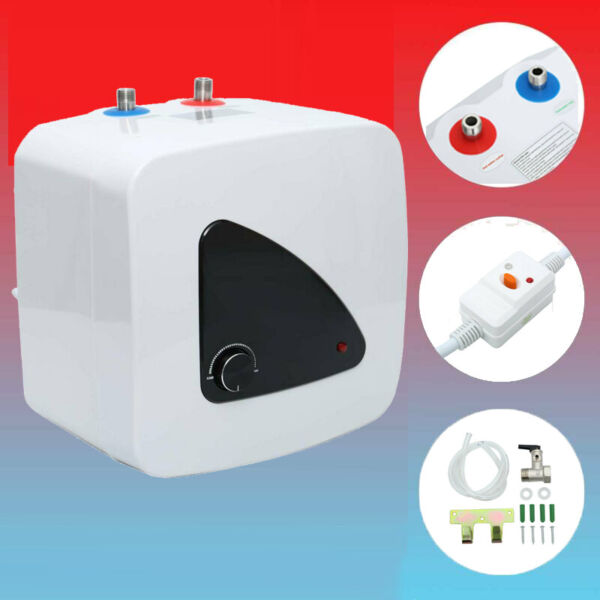 110V Electric Tankless Hot Water Heater Shower Instant Boiler Bathroom Kitchen $87.99