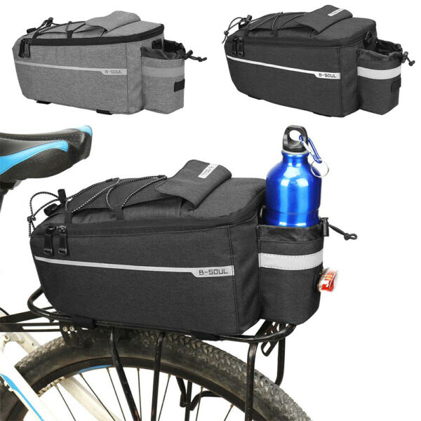 Bicycle Seat Rear Bag Cycling Pannier Rack Pack Bike Carrier Stable Accessories $26.12