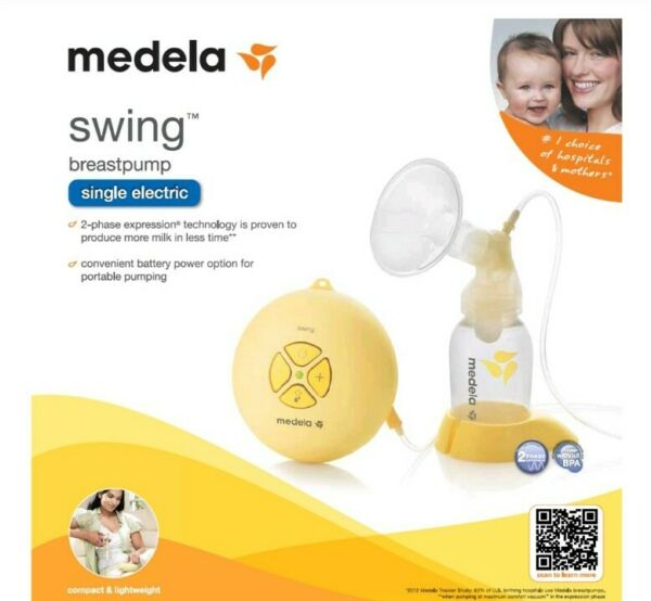 Medela Swing Single Electric Breast Pump Nursing Model #67050 Sealed New