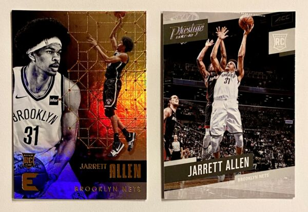 2017 18 JARRETT ALLEN Premium Rookie Lot x2 Essentials Prestige Nets RC $6.00