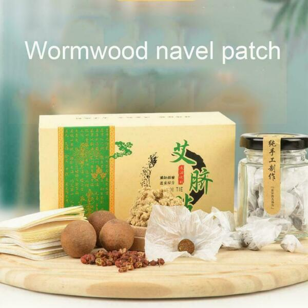 Slimming Belly Pellet For Men Woman Wormwood belly stickers button Q4D6 C $9.51