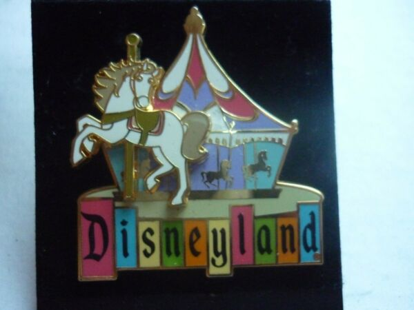 DISNEYLAND PIN RETRO FANTSYLAND KING ATHUR CARROUSEL 50TH ANNIVERSARY 2005 $28.88