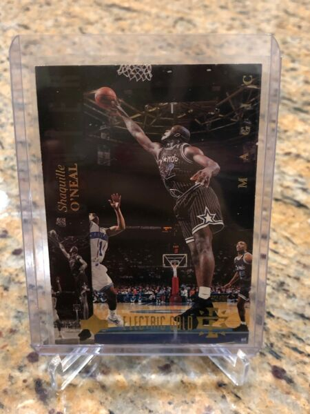 1994 95 Upper Deck ELECTRIC GOLD Shaquille O'Neal $48.00