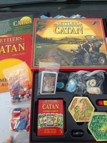 The Settlers of Catan Board Game Mayfair Games Complete EXCELLENT New Open Box