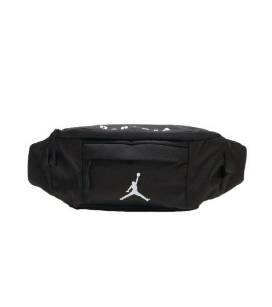 Nike Air Jordan Jumpman Sling Bag Black White Waist Fanny Pack 9A0092 023 $35
