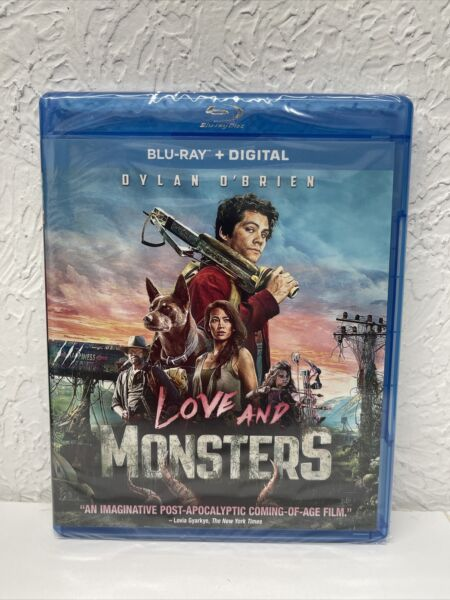 LOVE AND MONSTERS Blu ray Digital HD Brand New Sealed $16.99
