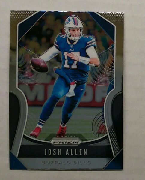 2019 Panini Prizm JOSH ALLEN #3 2nd Year Prizm Buffalo Bills $9.50