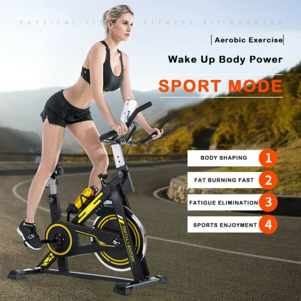 Bicycle Cycling Fitness Gym Exercise Stationary Bike Cardio Workout Home Indoor $47.32
