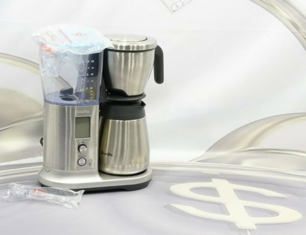 Breville BDC450 Precision Brewer 12 Cup Thermal Coffee Maker Stainless Steel