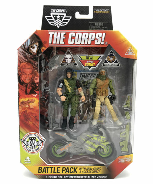 """The Corps Battle Pack Corps VS The Curse 3.75"""" Action Figures Troll amp; Smoke"""