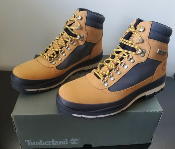 New in Box Timberland Mens Wheat Nubuck Field Trekker Insulated Boots 0A1Z7X $84.99