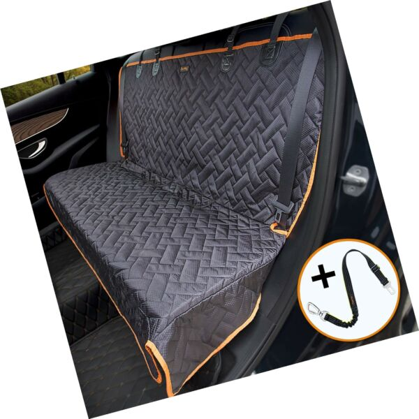 iBuddy Bench Dog Car Seat Cover for Car SUV Small Truck Waterproof Back Seat... $54.99