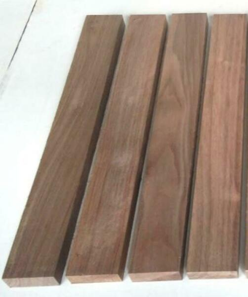 3 4quot; x 2quot; x 24quot; BLACK WALNUT Pack of 4 8 or 12 Boards Wood Cutting Lumber $27.00
