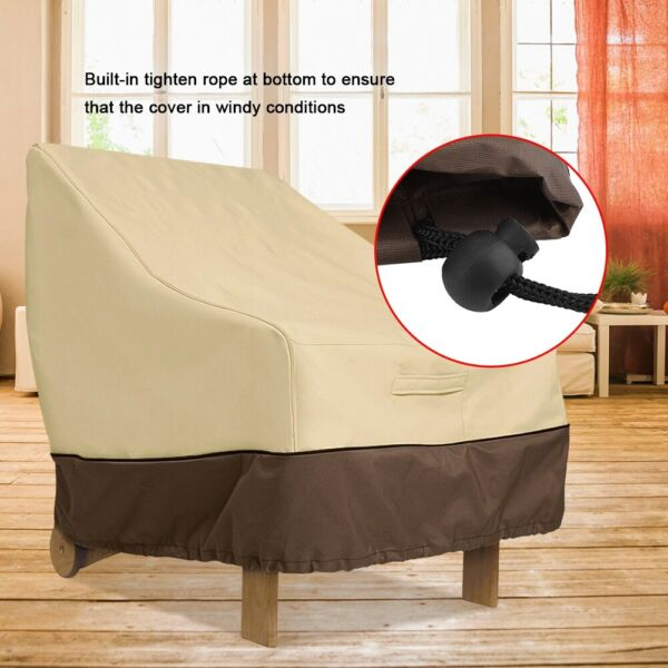 Chair Sofa Patio Furniture Cover Waterproof Dust proof Outdoor Protection Garden $17.99