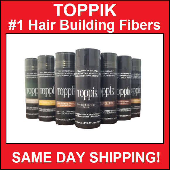 TOPPIK Hair Building amp; Thickening Fibers Brown Black Medium Brown Light 27.5g