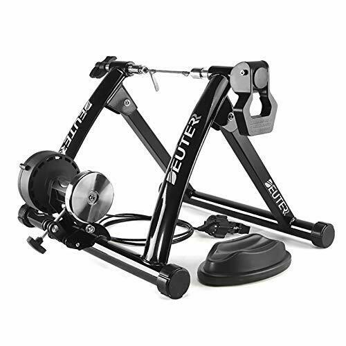 Deuter Bike TrainerMagnetic Bicycle Stationary Stand for Indoor Exercise Riding $154.58