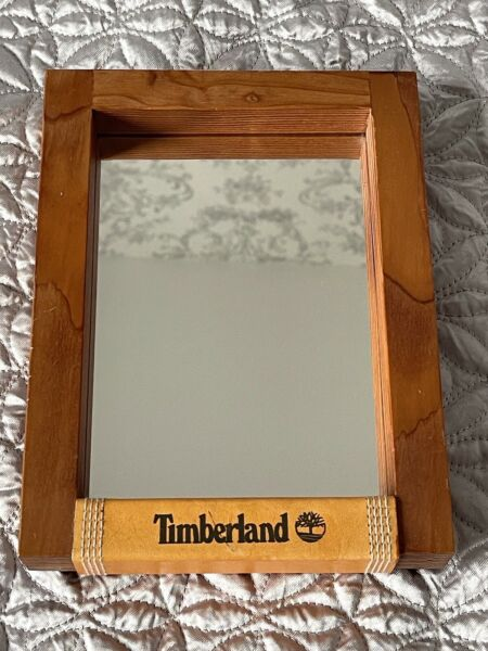 Timberland Original Vintage Wood Framed Freestanding Mirror GBP 39.00