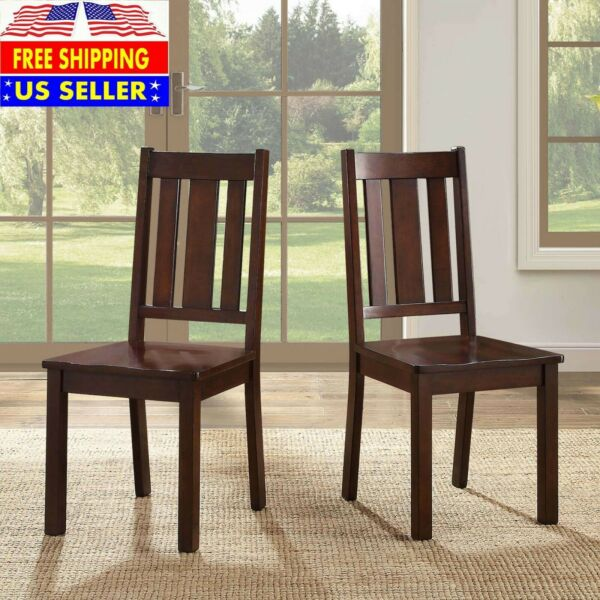 Banxton Best Wood Carved Dining Chair For Home And Garden Decoration 2 Set