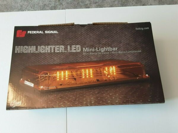 Federal Signal Highlighter LED Mini Lightbar 454101 AWA