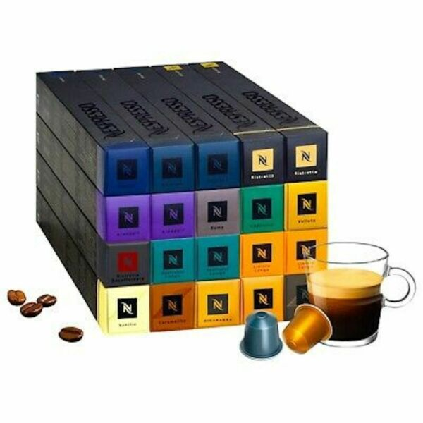 NESPRESSO ORIGINAL ALL FLAVORS COFFEE CAPSULES PODS