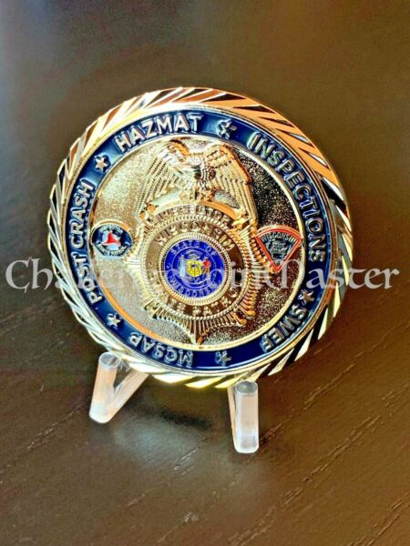 Wisconsin State Patrol Police Motor Carrier Unit Inspector challenge coin $26.99