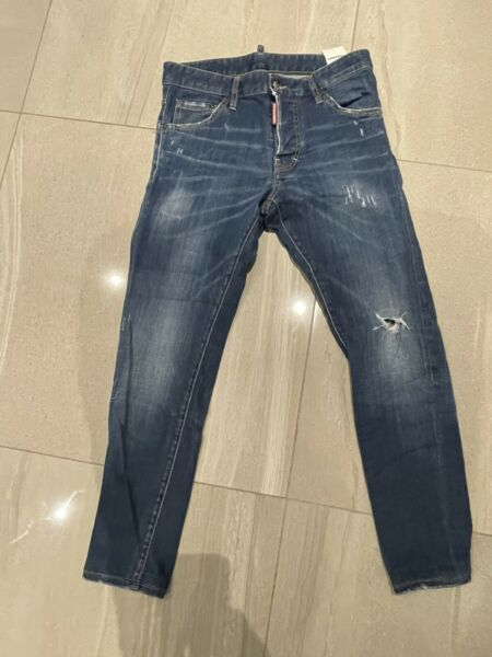 "MENS DSQUARED JEANS IN BLUE DENIM SIZE 30"" 30"" GBP 75.00"