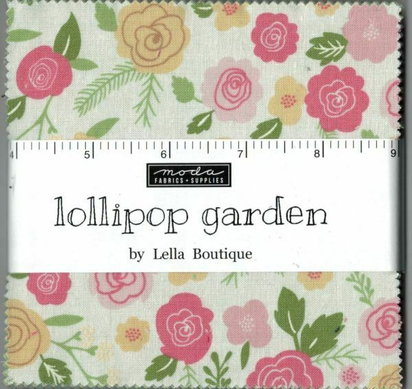 Lollipop Garden By Lella Boutique For Moda Charm Pack