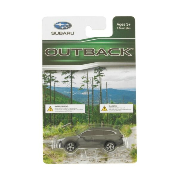 Official Genuine Subaru Outback 1 64 Die Cast Toy Car Diecast New 1:64 New Gray